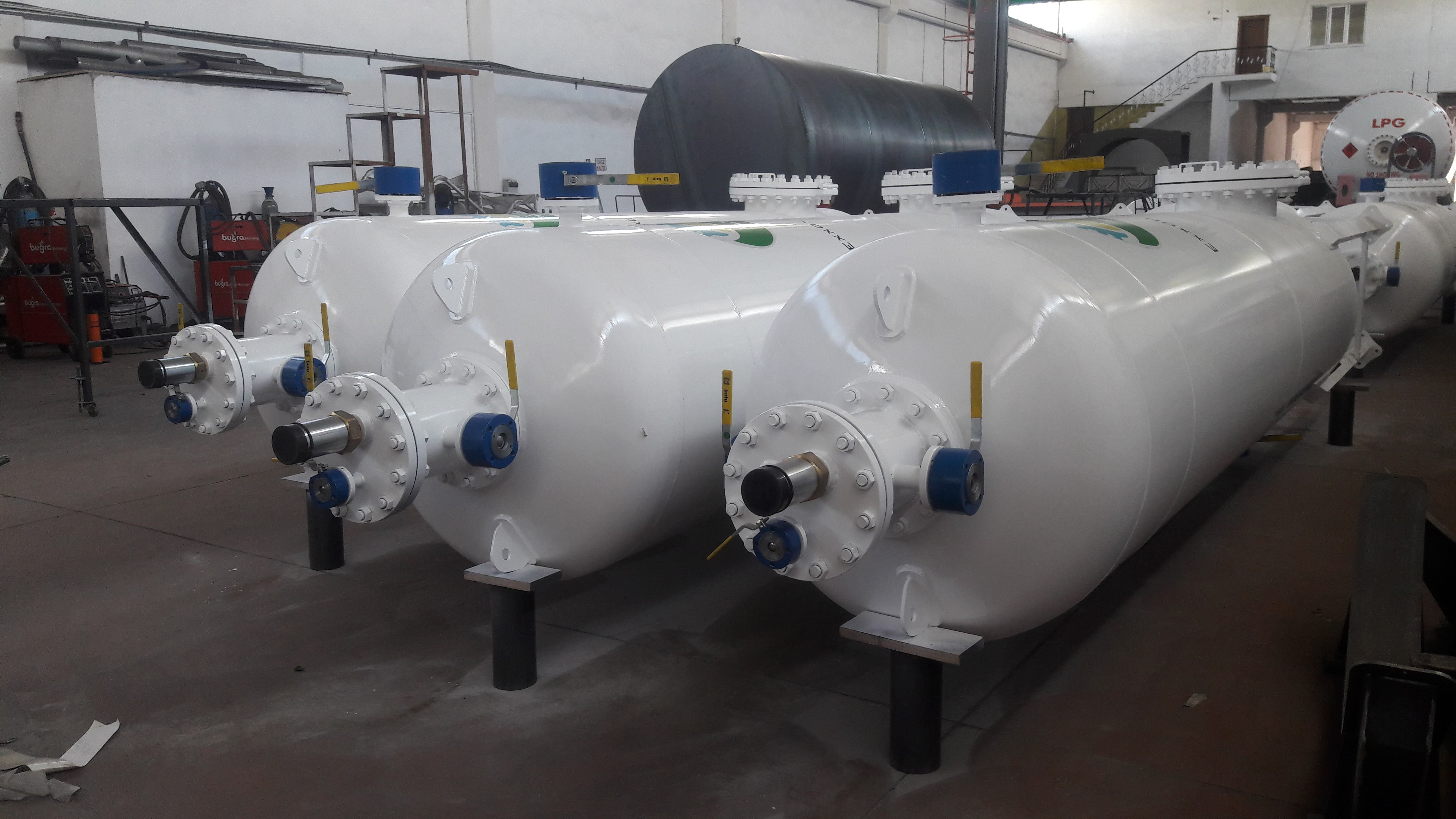 4,5m3 LPG filtration tanks