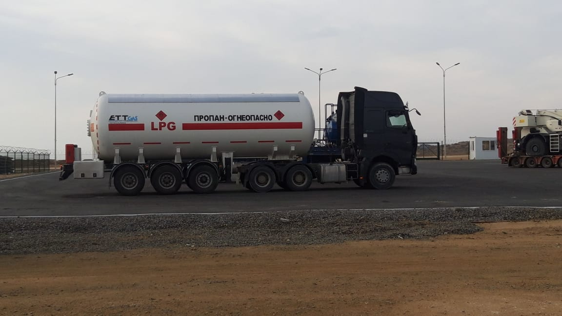 Another 45 m3 Lpg Trailer delivery to Kazakhistan
