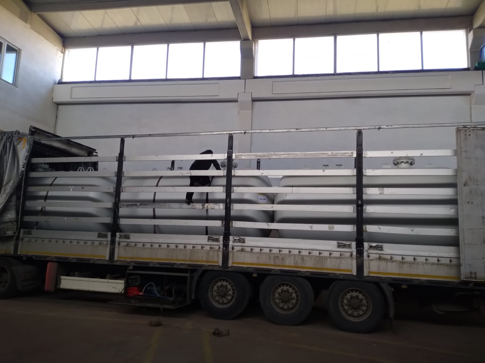 20 pieces 10 m3 Under Ground Lpg Storage tank delivery to Russia Federation 25.01.2019 EN Design