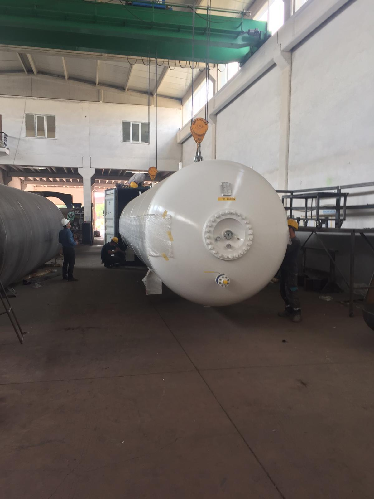 44 M3 ABOVEGROUND LPG STORAGE TANK WE SENT IVORY COAST THIRD PARTY INTERTEK