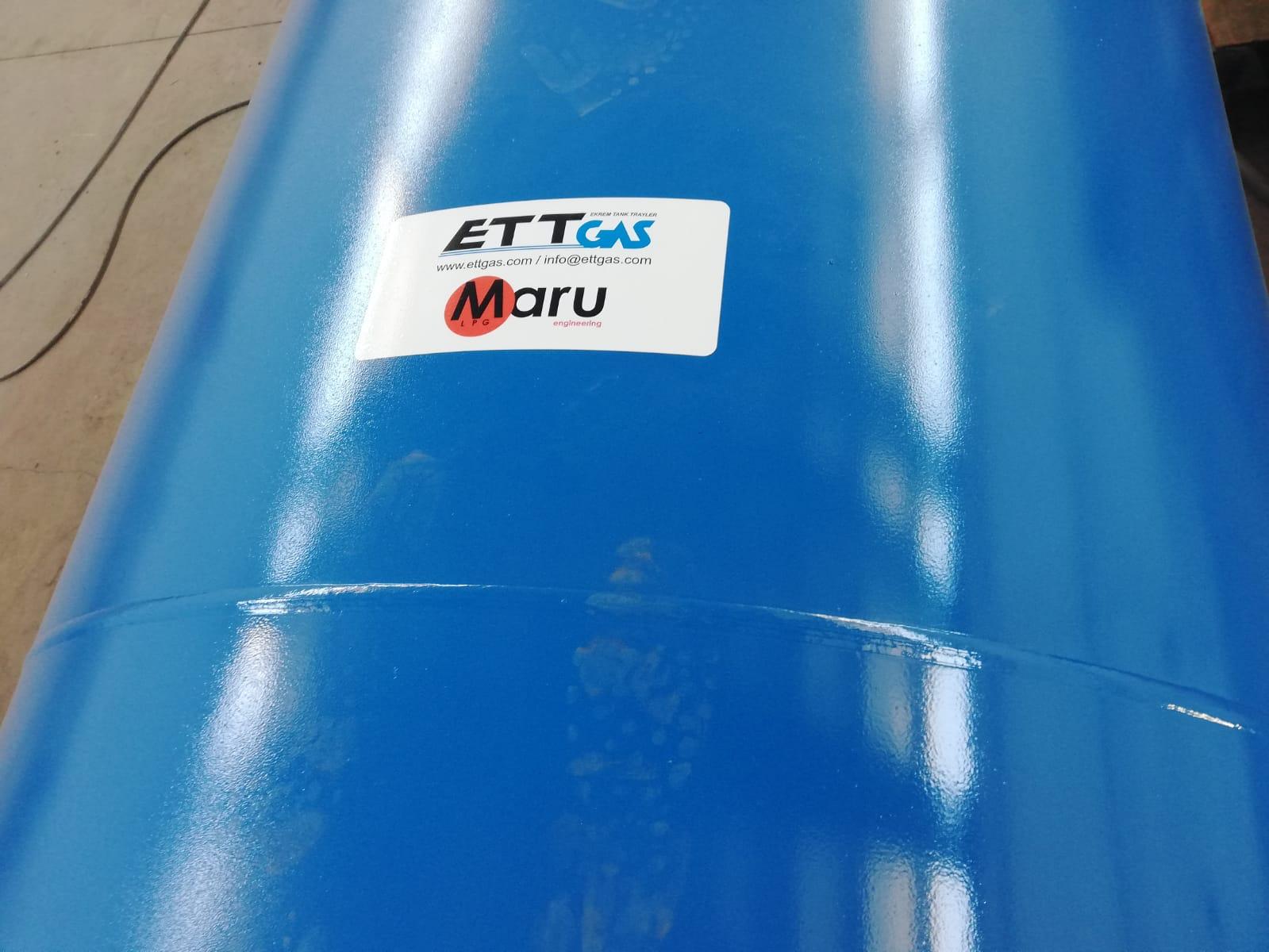 10 m3 AIR TANK 34 BAR TEST PRESSURE WE SENT AFRICA