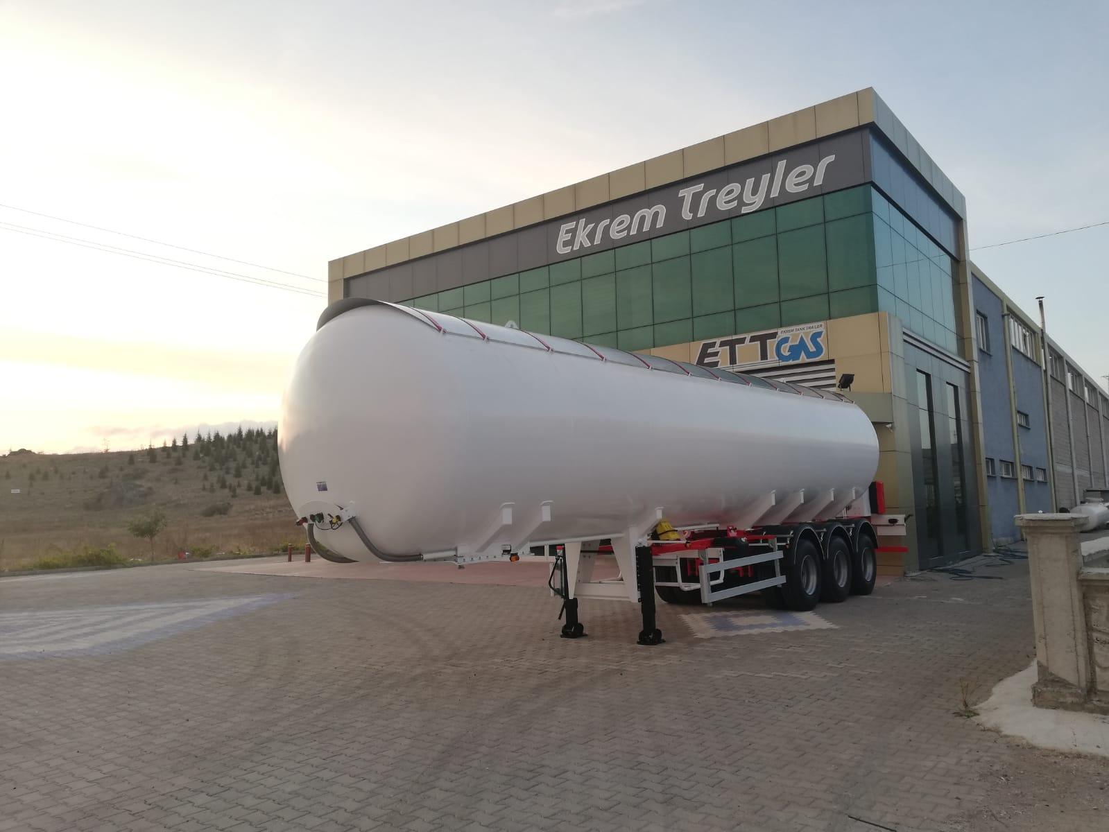57 m3 LPG TRAILER 5PCS WE SENT AFRICA