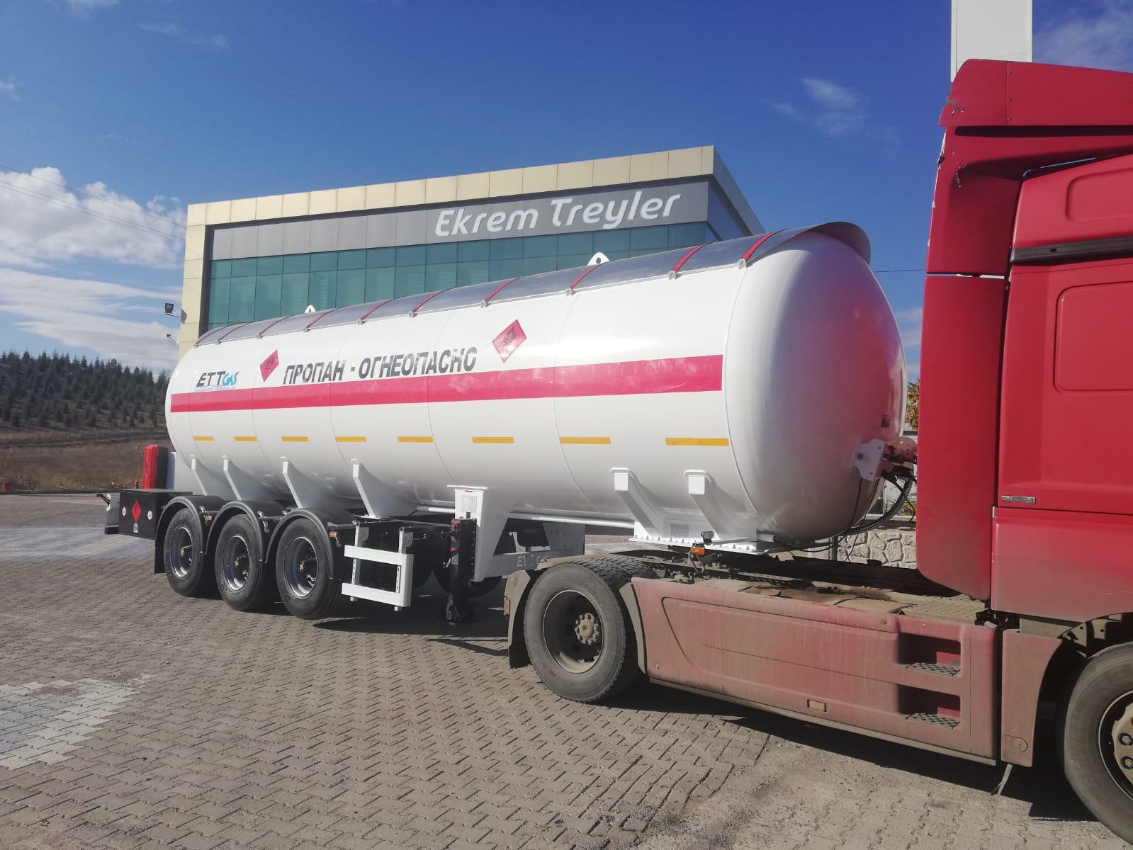 36 m3 LPG TRAILER 2PCS WE SENT KAZAKHISTAN