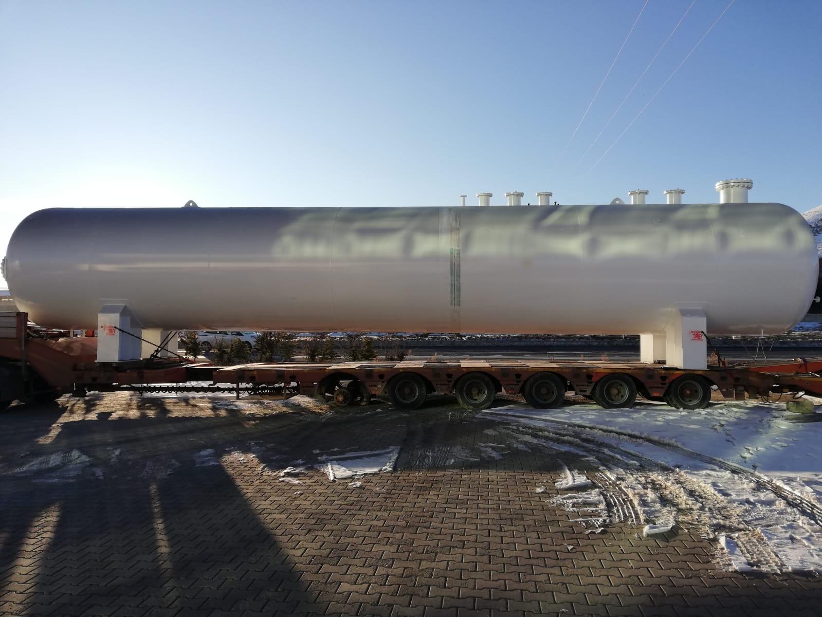 100 m3 FUEL GAS STORAGE TANK WE SENT