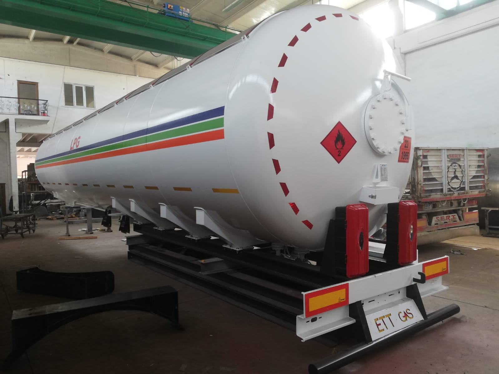 WE SENT 85 M3 LPG TRAILER  #lpg #trailer #semitrailer #ettgas #lpgtrailer
